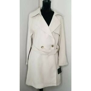 Andrew Marc New York Trench Coat Tan Size L